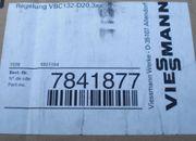 Viessmann Regelung VBC132-D20 3xx 7841877