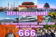 Sensationell Asien Kreuzfahrten 2 Wochen