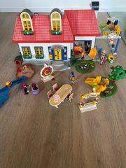 Playmobil Einfamilienhaus mit viel Zubehör