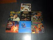 Sammlung LPs Weihnachtslieder 7 Stck