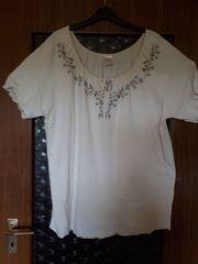 Blusen-T-Shirt Gr 48 50 beige