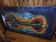 Tischplatte Mosaik