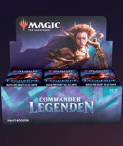 Commander-Legenden Draft Booster-Display Box