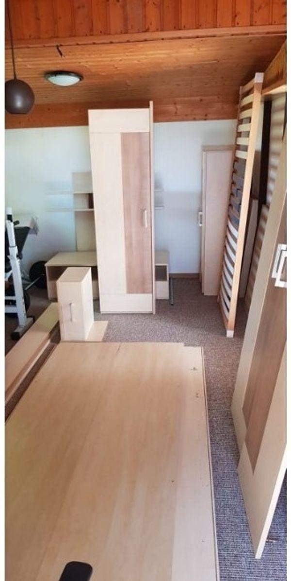 Kinder- Jugendzimmer aus Holz 8-Teilig