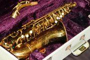 Getzen Elkhorn Alt Saxophon 1950er