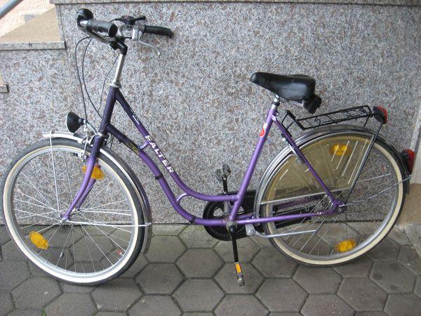 Nostalgie Damen City Rad 26