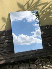 Spiegel Flachspiegel Badezimmerspiegel 58 cm