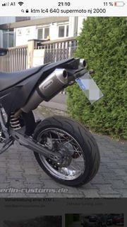 Endtöpfe für KTM Duke II