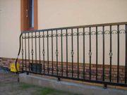 Metallzaun Zaun aus Polen Tor