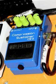 Guitar Pedal Kompressor Sustainer Boss