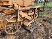Theke aus Holz im Stil