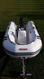 gebrauchtes Schlauchboot 15 PS Suzumar