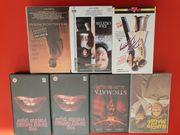 VHS-Videos 7 Stück zu verschenken