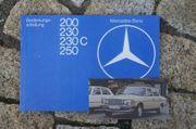 Betriebsanleitung Mercedes W123 200 230