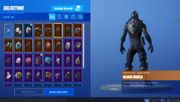 Fortnit account Black Knight ghoul