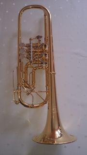 Thein B-Trompete vergoldet TOP Zustand