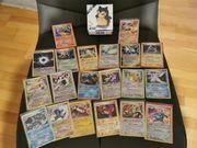 20 Glitzer Pokemon Karten und