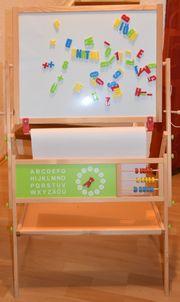 Kinder Schultafel mit Magnet und
