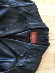 Montgomery Ledermantel Jacke Größe S