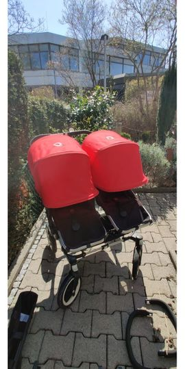 Gebrauchter Bugaboo Donkey - Zwillingskinderwagen Lieferung: Kleinanzeigen aus Böblingen - Rubrik Kinderwagen