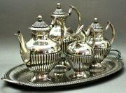 Kaffeekern Silber 833 Teekanne Kaffeekanne