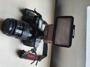 Canon EOS 650 Kleinbild-Spiegelreflexkamera mit