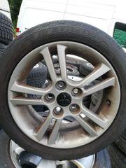 Mitsubishi Felgen mit neuen Reifen
