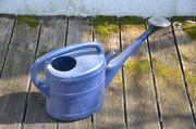 Geli Gießkanne dunkelblau Kunststoff gebraucht