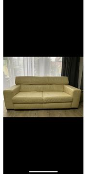 Couch Garnitur echt Leder