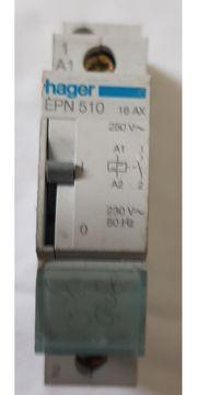 Hager EPN510 Fernschalter 1 Schließer