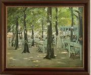 Gemälde Max Liebermann Das Cafe