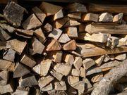 Brennholz Fichte oder Buche