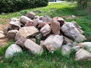 Große wunderschöne Steine zur Gartengestaltung