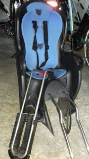 Fahrradsitz mit Halterung