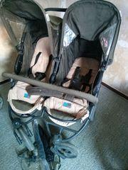 Zwillingskinderwagen Geschwisterkinderwagen von hauck