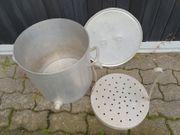 Kartoffelkocher Suppentopf Chromnickelstahl mit Siebeinsatz