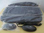 Kabellose Tastatur incl Maus und