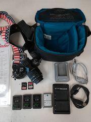 Olympus EM10M2 Kamera mit Zubehör