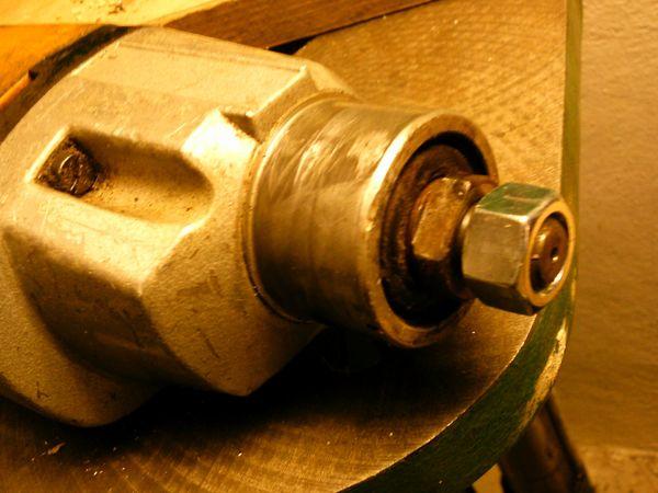 Adaptermutter für Bohrmaschinen zur Nutzung
