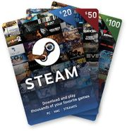 350EUR Steam-Markt Guthaben