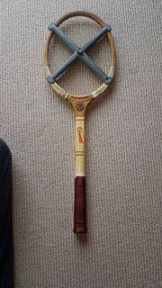 Tennisschläger Antik V Snauwaert mit