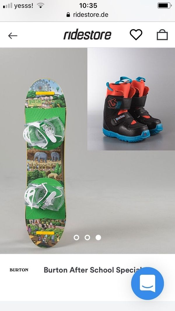 Kinder Snowboard After School
