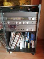 Hifi Anlage mit Schallplattenspieler