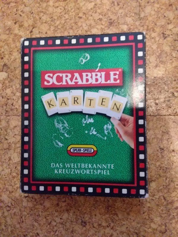 Kartenspiel SCRABBLE