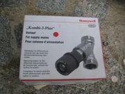 Honeywell V5000Y0080 Kombi-3-Plus Rotes Handrad