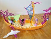 Playmobil Fairies 9133 romantisches Feenschiff
