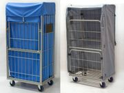 Textil- Containerhauben Innen- und außen