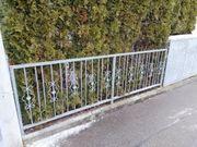Schmiedeeisener Zaun Gartenzaun mit Türe
