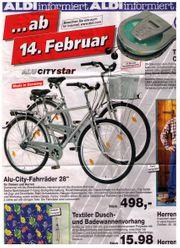 1 Alu Herrenrad von Aldi