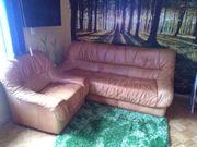 Wohnzimmercouch mit Sessel